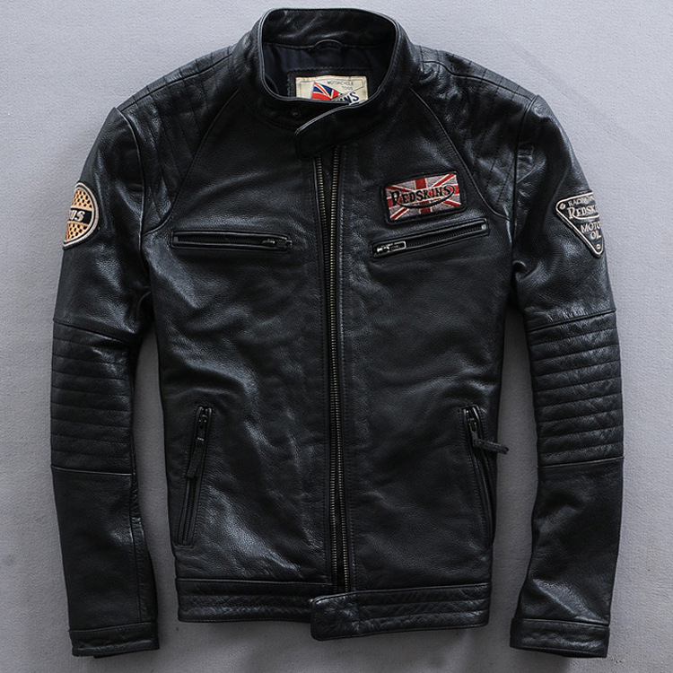 Compare Prices on Mens Bomber Leather Jacket- Online Shopping/Buy ...