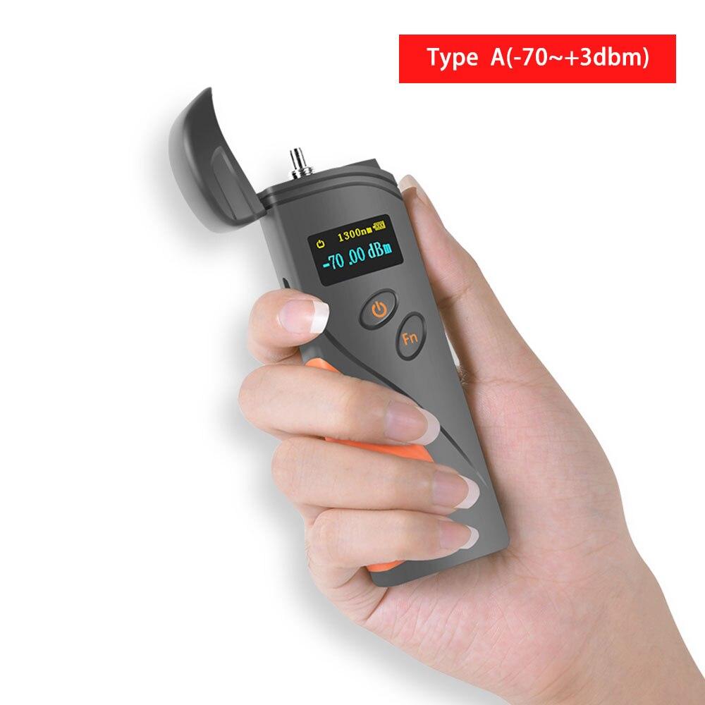 Ftth высокоточный портативный мини-волоконно-оптический измеритель мощности-70+ 3 дБм волоконно-оптический кабель тестер-50-+ 20 - Цвет: A