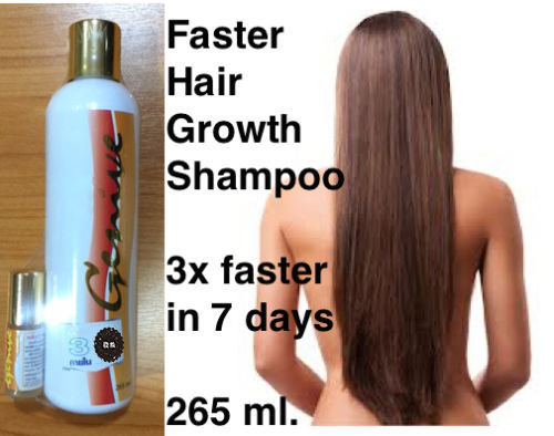 Genive Long Hair Fast Growth Shampoo Helps Your Hair To Lengthen Grow Longer Free Shipping