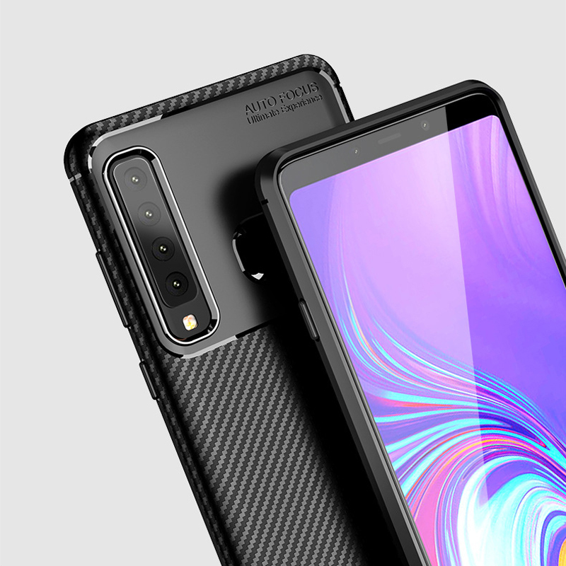 A9s Armor Carbon Fiber Case for Samsung Galaxy A9 2018 A9S ... Galaxy Star Pro Cover