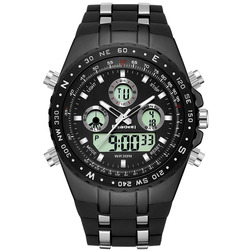 2018 Watches men sport wristwatches military reloj hombre Dive <font><b>Digital</b></font> LED Display male <font><b>clock</b></font> quartz men watch relogio masculino