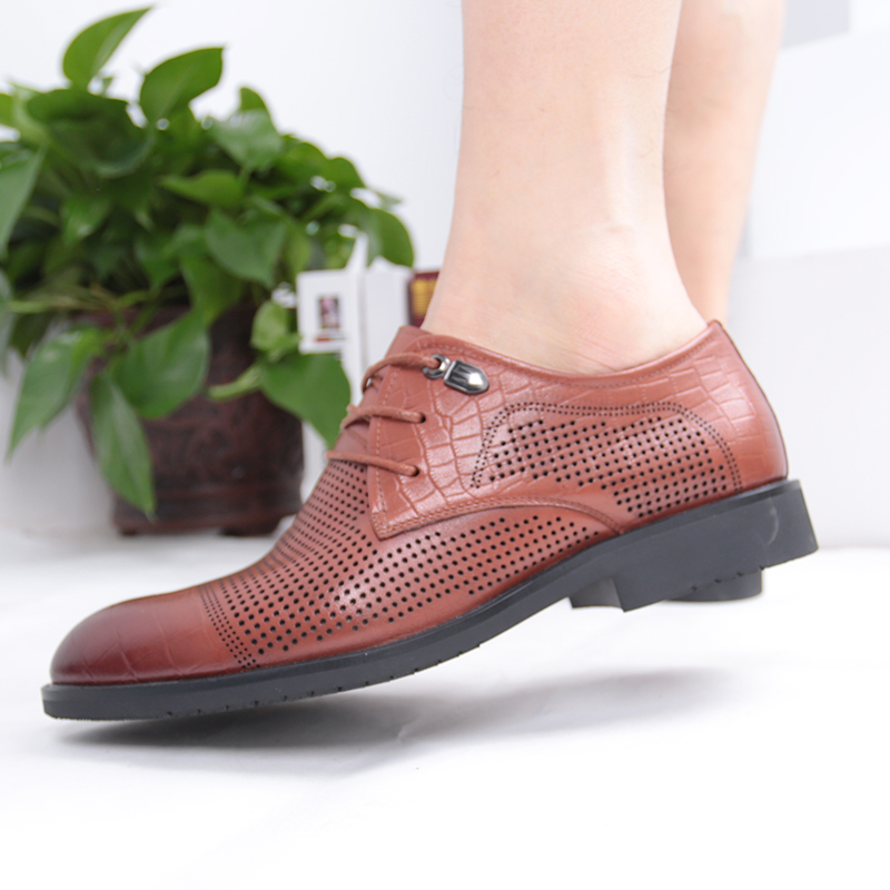 2018 Men Summer Shoes Breathable Lace-up Male Casual Shoes Fashion Chaussure Homme Soft Zapatos Hombre Men Genuine Leather Shoes ege brand handmade genuine leather spring shoes lace up breathable men casual shoes new fashion designer red flat male shoes