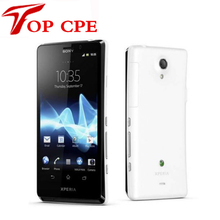 "Free shipping Unlocked Original Sony Xperia T LT30p Mobile Phone 4.6""1280×720 Dual-core 1.5GHz 16GB 13MP 3G GPS WiFi Android 4"