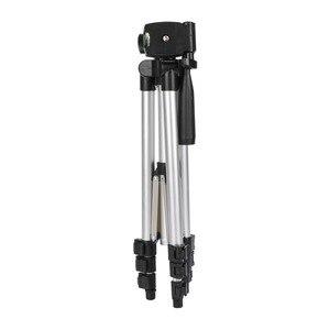 Image 3 - عالمي أربعة أرضية عالية قابلة للتعديل + طوي الحامل ثلاثي الأرجل للكاميرا والهاتف المحمول توفير حامل هاتف مع صندوق البيع بالتجزئة