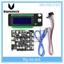 MKS SMelzi + Melzi MINI LCD 2004 3d Printer Kit Motherboard