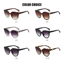 """Модные солнцезащитные очки """"кошачий глаз"""" для женщин и мужчин, винтажные градиентные очки, Ретро стиль, солнцезащитные очки, женские очки, UV400, модные, для вождения, для улицы"""