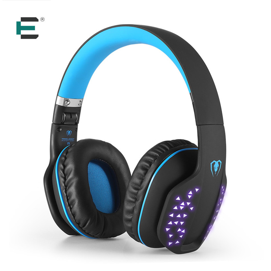Kotion EACH Beexcellent Q2 Wireless Headphone Stereo Noise Canceling Bluetooth 4.1 Headset Hi-Fi LED Glowing Earphone with Mic original fashion bluedio t2 turbo wireless bluetooth 4 1 stereo headphone noise canceling headset with mic high bass quality