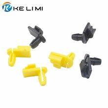 KE LI MI нейлоновые фиксаторы, фиксатор для двери автомобиля, фиксатор штока, формовочный зажим, черный, желтый, белый цвет, защелки, пряжка