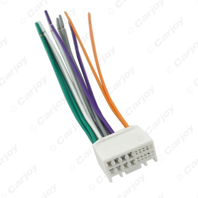 Online Shop LEEWA Car Audio CD Stereo Wiring Harness Adapter With