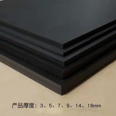 3pcs Black Snow, Board PVC Foam Board Building Sand Table Model Making Handmade Diy Materials  300*400mm