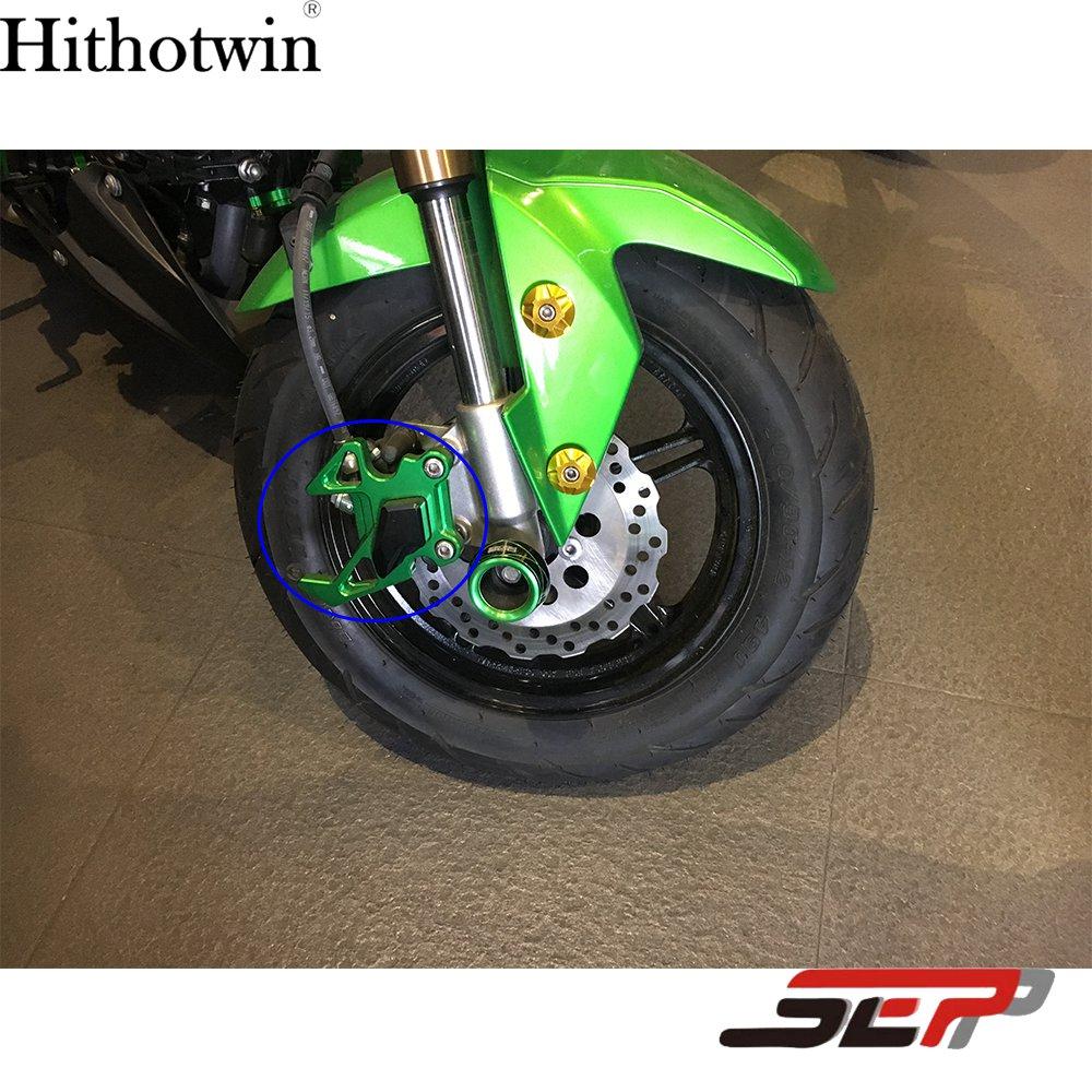 SEP Motorcycle Front Brake Disc Caliper Brakecaliper Guard Protector Cover  For Kawasaki Z125 Z 125 Pro 2015 2016 2017