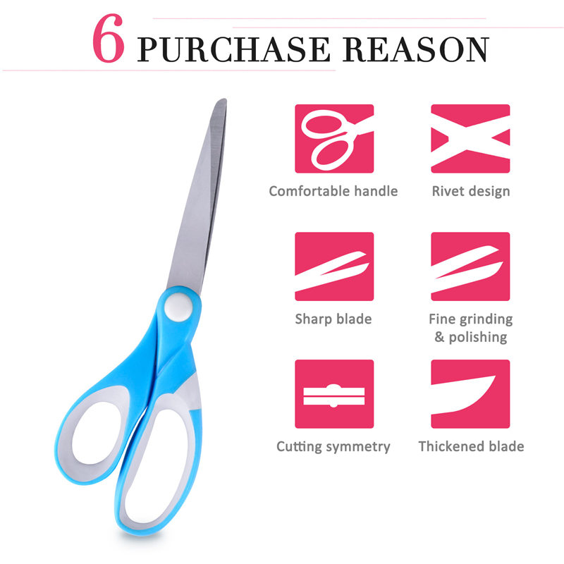 10 quot Scissors For Fabric Tailor 39 s Scissors Fabric Stainless Steel Office Household Scissor Sewing Scissors tools for sewing Cuts in Tailor 39 s Scissors from Home amp Garden