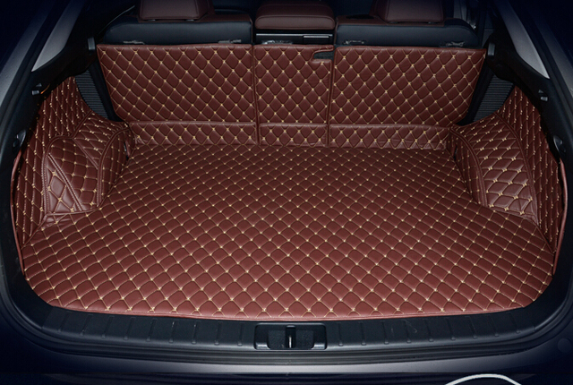 새로운 lexus rx450h 2016 용 고품질 매트 특수 자동차 트렁크 매트 rx 450h 2017 용 내구성 방수 카펫 라이너
