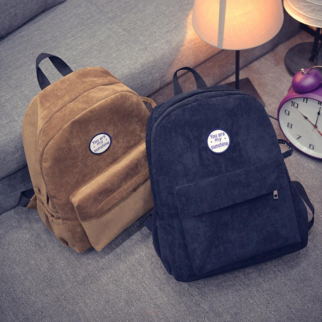 2018 новые модные женские туфли Рюкзак Опрятный замшевые рюкзаки девушки школьные сумки Винтаж рюкзак дорожная сумка женский рюкзак