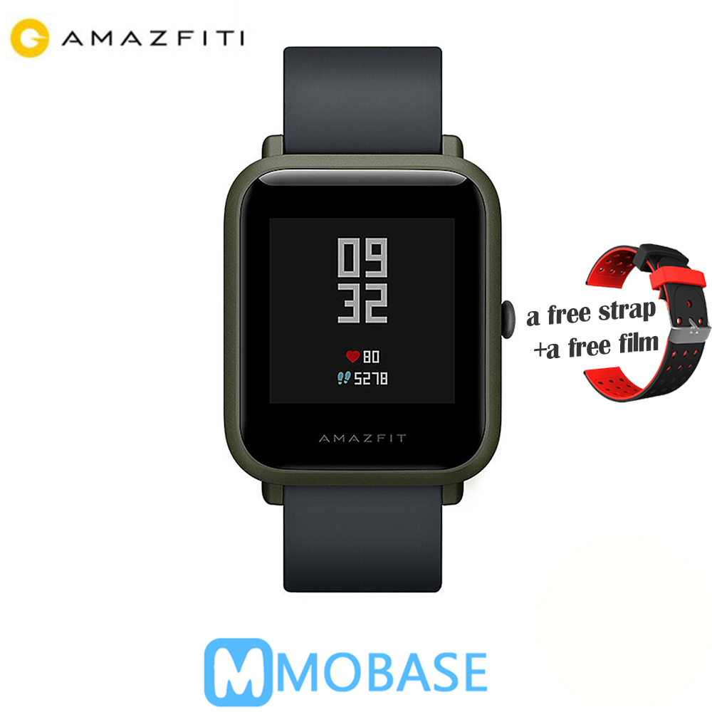 Здесь можно купить  Amazfit Bip Huami Smart Watch [English Version] GPS Smartwatch Android iOS Heart Rate Monitor 45 Days Battery Life IP68  Бытовая электроника