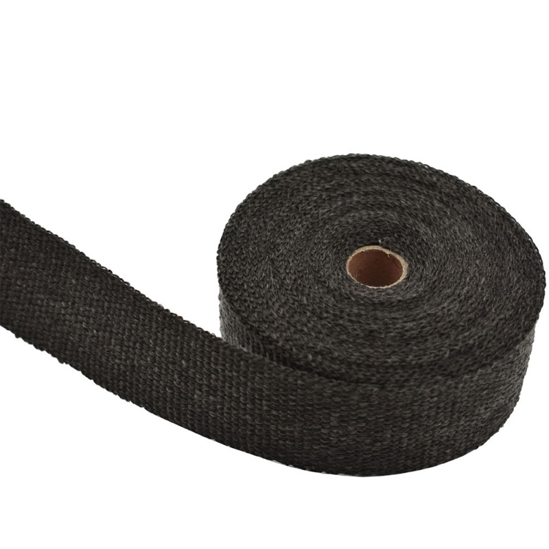 15 M Thermal Tape Exhaust Pipe Header Heat Resistant Wrap Tape With Steel Tires Auto Motorcycle Intake Parts(China)