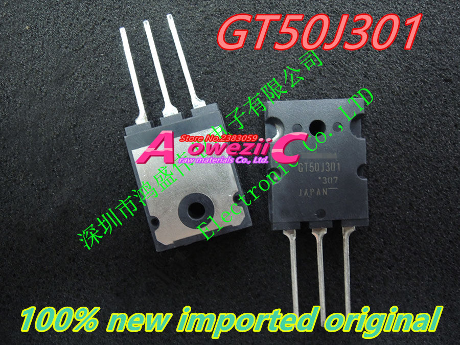 Aoweziic  100% New Imported Original GT50J301  GT50J322  GT50J325 TO-264 50A  600V IGBT Transistor (selling Only Raw Materials)