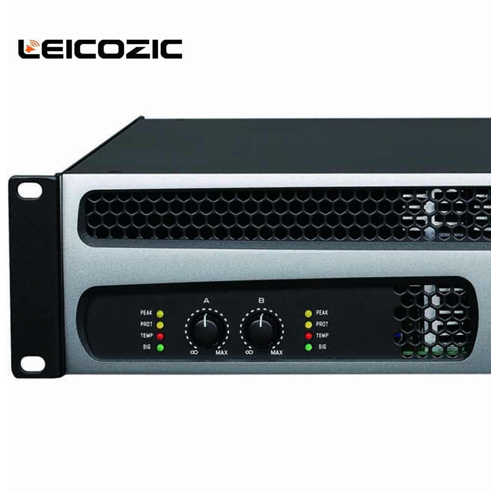 Leicozic DH21000 Max 3000 Вт усилитель мощности Усилители звука 1000 Вт + 1000 Вт Класс h усилитель мощности 2ohm усилитель звука