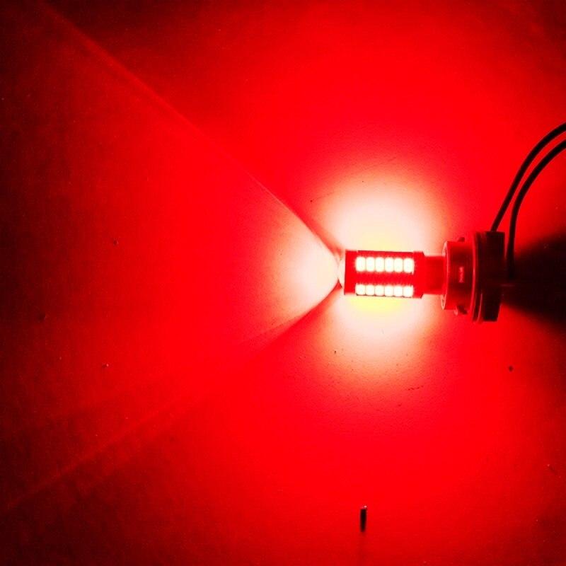 1pcs 1156 P21W BA15S 33 SMD 5630 5730 LED Car Backup Reserve Light Motor Brake Bulb Daytime Running Light White Red Orange Amber