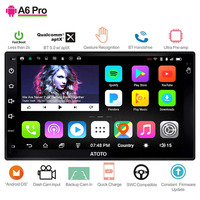 ATOTO A6 2 Din Android Car GPS Stereo Player/2x Bluetooth/A6Y2721PR G/Hands Gesture Operation /Indash Double din Radio/WiFi USB
