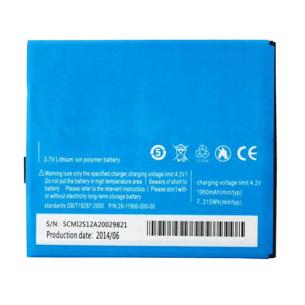 100% De Backup Original Elephone P10 P10c Bateria Para 1950 mAh 3.7 V Telefone Móvel Esperto + + Número de Rastreamento