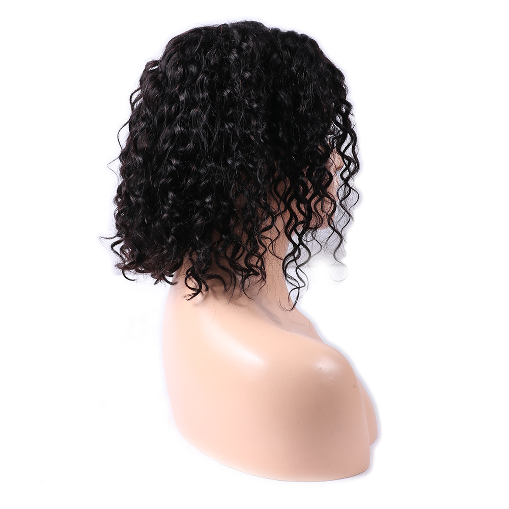 150% Density Short Bob Wigs For Black Women Peruvian Deep Wave Hair Wig With Baby Hair Remy Human Hair 4x13 Lace Front Wigs Regular Tea Drinking Improves Your Health Human Hair Lace Wigs Hair Extensions & Wigs