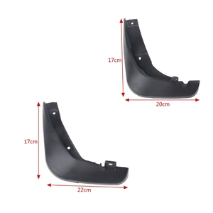 Image 5 - 4Pcs Mazda 6 (GJ) Atenza 2013 2017 Mudflaps 스플래쉬 가드 진흙 플랩 머드 가드 Fender 2014 2015 2016 용 OE 스타일의 자동차 머드 플랩