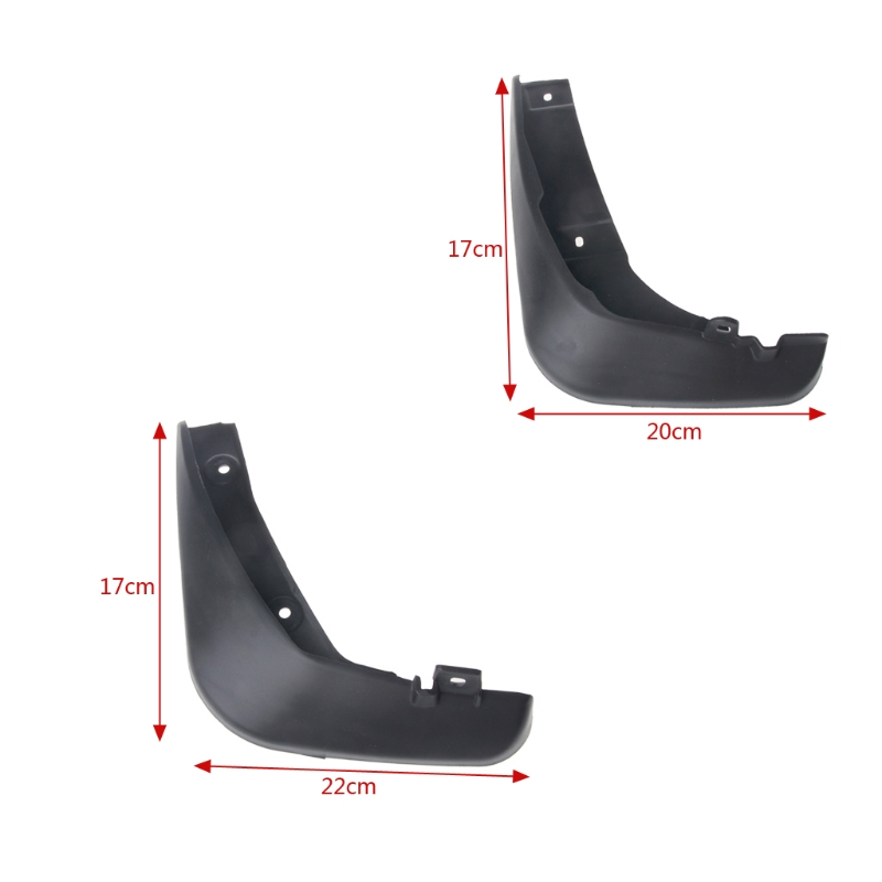 Image 5 - 4Pcs OE Styled Car Mud Flaps For Mazda 6 (GJ) Atenza 2013 2017 Mudflaps Splash Guards Mud Flap Mudguards Fender 2014 2015 2016-in Mudguards from Automobiles & Motorcycles