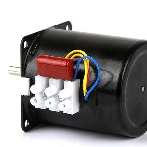 Image 5 - 1pc 220v ac 28w 68ktyz motor síncrono da engrenagem 68 ktyz ímã permanente motor síncrono 2.5/5/10/15/20/30/50/60/80/110rpm