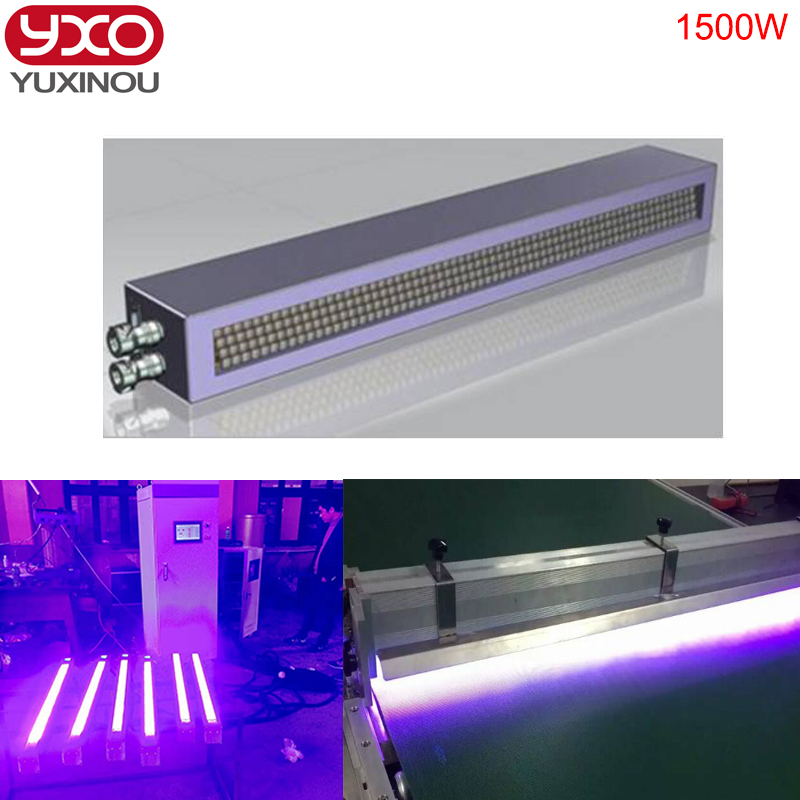 1pcs 1500W UV LED curing system for printer/inkjet printing UV paint curing machine Printing screen printing industry machine expire date printing machine date code printer machine for printing expiration date