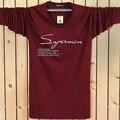 Algodão 2016 Nova Primavera Verão Da Marca de Roupas Camisa Roupas Masculinas T T-shirt longos Da Luva Camisas Dos Homens Casual T Plus Size 4XL 5XL 6XL