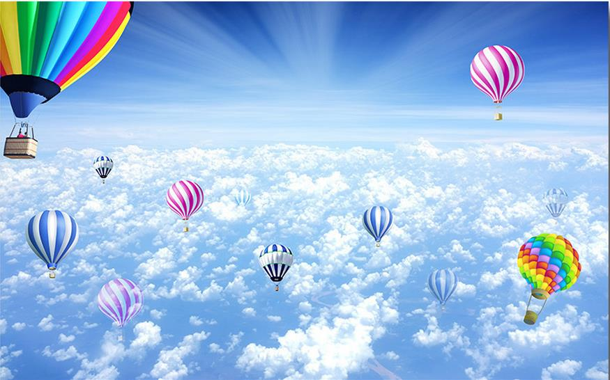 Online Buy Wholesale Hot Air Balloon Wallpaper From China