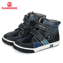 FLAMINGO Autumn Warm Patch Fashion Kids Boots High Quality A