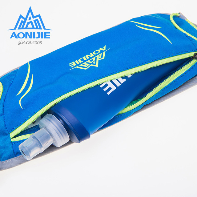 New AONIJIE Polyester Outdoor Waist Bag Unisex Sports Waterproof Waist Bags Pack Running Belt Bag For Hiking Running Cycling