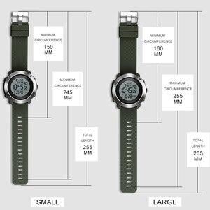Image 5 - SKMEI Hombres Deportes Relojes Chrono Doble de Tiempo Digital Pantalla LED Reloj de Pulsera 50 M Resistente Al Agua Relogio masculino 1268