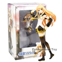 New Arrival Anime Action Figure Cartoon VOCALOID2 Library Hatsune Miku Rin Collectible Model Toy
