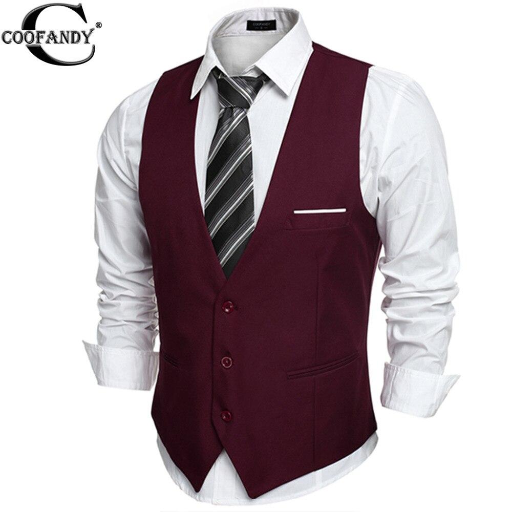 coofandy us size dress vests for men suit vest male. Black Bedroom Furniture Sets. Home Design Ideas