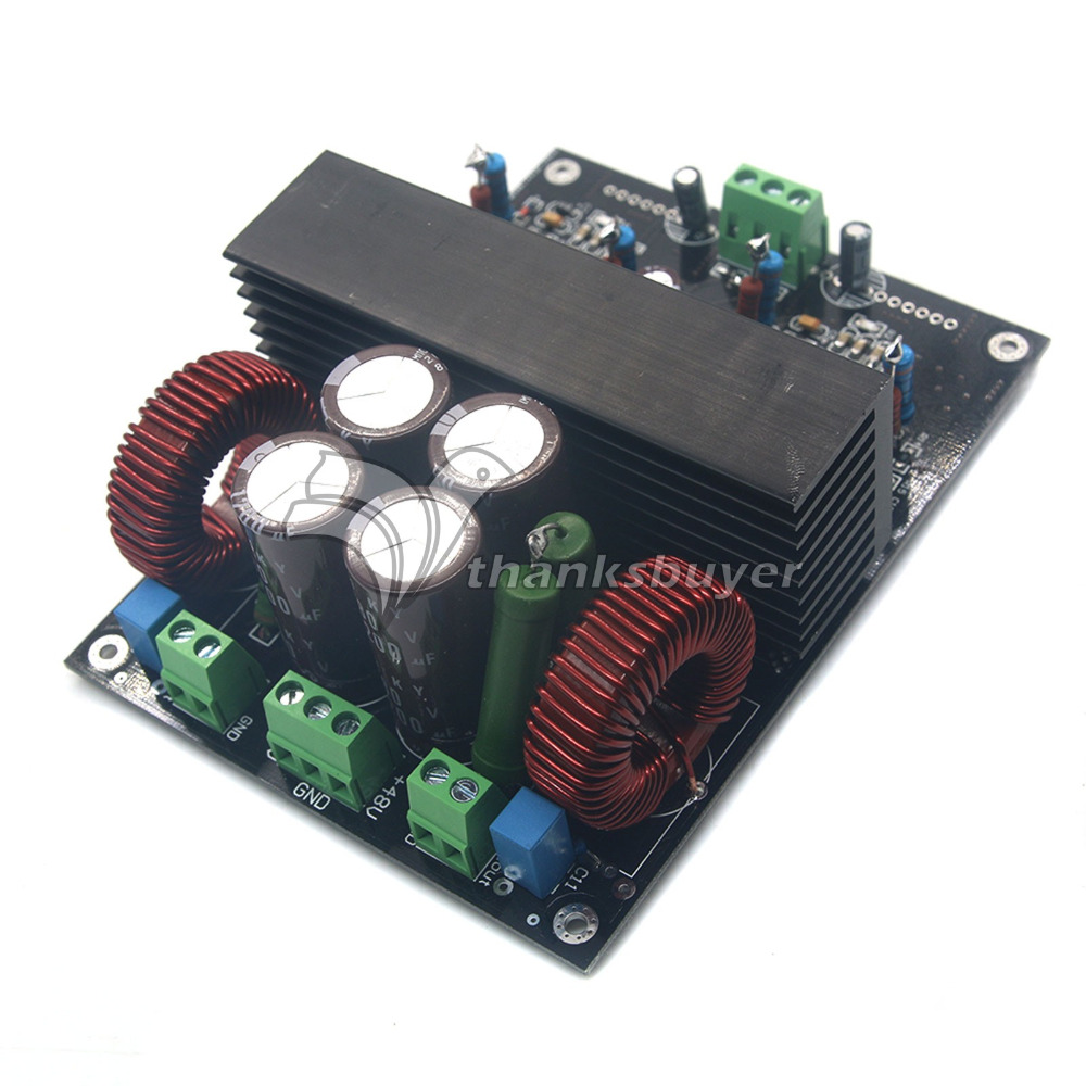 ФОТО HIFI Digital Power Amplifier Board Dual Channel 400W*2 IRF4019 for Audiophile