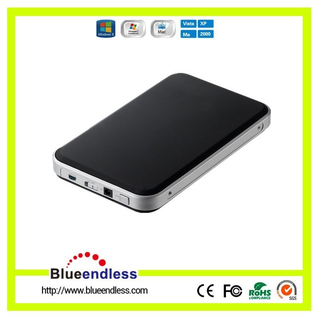 "Universal 2.5"" USB 3.0 Black HDD Enclosure Hard Disk Case with SATA I ,SATA II,SATA III SSD Disk Box Hard Drive Enclosure"