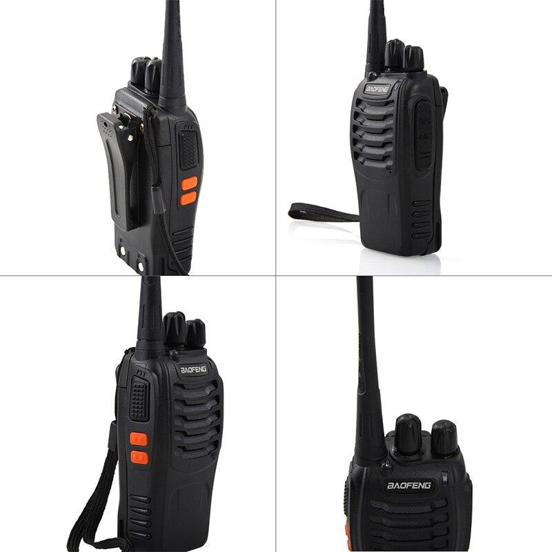 Baofeng BF-888S jouet Rechargeable talkie-walkie set interphone téléphone jouet professionnel talky gadget émetteur-récepteur de poche P20 - 2