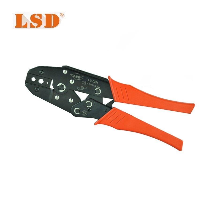 LS-02H Hand tool for coaxial cable connectors RG58, 59, 62 crimpnig pliers High Quality SMA,BNC connectors crimping tool 142 0701 841[rf connectors coaxial connectors pc end mt jc mr li