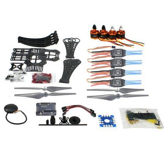 DIY RC Drone Quadcopter X4M360L Rahmen Kiti mit GPS APM 2,8 Motor ESC F14892-ADIY RC Drone Quadcopter X4M360L Rahmen Kiti mit GPS APM 2,8 Motor ESC F14892-A