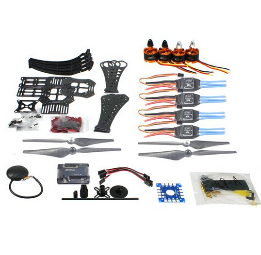 DIY RC Drone Quadrocopter X4M360L Rahmen Kit mit GPS APM 2,8 Motor ESC F14892-A mini drone rc helicopter quadrocopter headless model drons remote control toys for kids dron copter vs jjrc h36 rc drone hobbies