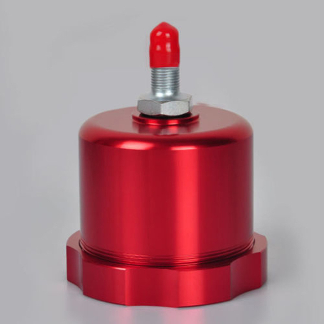 Red Hydraulic Handbrake Oil Tank for Hand Brake Fluid Reservoir E-brake Rally Car Brake OIl Tank
