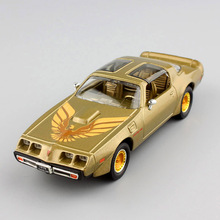 kid's 1:43 Scale  vintage 1979 Pontiac Firebird trans AM van car luxury minicar replica metal diecast model toys gold for adult стоимость