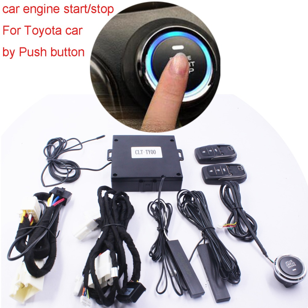 For Toyota COROLLA Car Add Push Button Start/ Stop And Remote Key Start Stop System For Toyota COROLLA (Year 2009-2018)