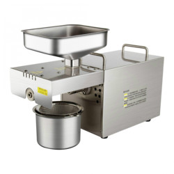 Oil Pressers household press all stainless steel peanut sesame rapeseed home electric automatic frying machine