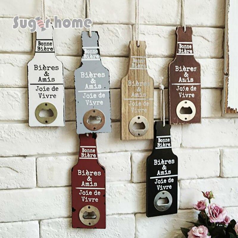 Die Alte Weisen Kreative Holz Bier Flaschenöffner Personalisierte Lustige  Edelstahl Kreditkarte Flaschenöffner Bar Tool