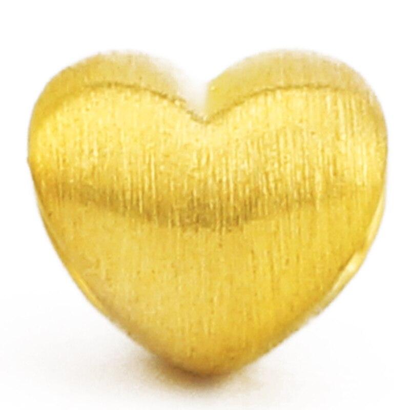 24K oro amarillo colgante gran oferta 999 mujeres 3D amarillo oro amor corazón colgante P6217 Luces colgantes nórdicas modernas colgantes de cristal E27 E26 LED para cocina restaurante Bar sala de estar dormitorio