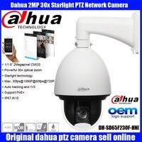 Original English Dahua DH SD65F230F HNI Dahua Auto Tracking IVS PTZ IP Camera 1080P 2mp 30x